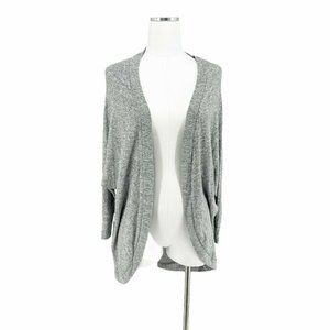 American Eagle Gray Open Front Cardigan Small